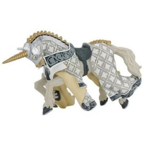 Papo Weapon Master Unicorn Horse Toy