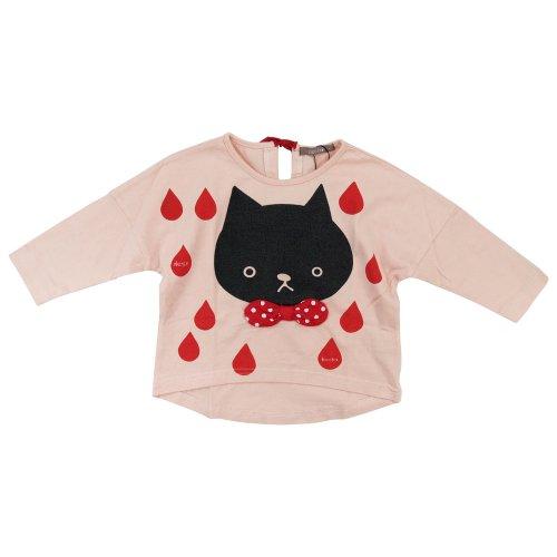 nico hrat(ニコフラート) ネコドルマンTシャツ 100cm/ピンク NO.B-230266