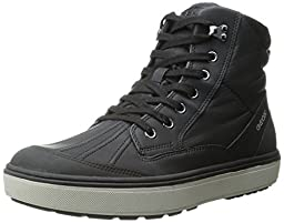 Geox J Mattias Boy 1 Boot (Toddler/Little Kid/Big Kid), Black, 24 EU (8 M US Toddler)