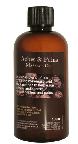 100ml Aches and Pains Massage Oil