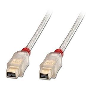 Lindy 30758 - Cable FireWire 800 premium, 9 pines beta macho a 9 pines beta macho, 4.5 m  Informática Comentarios de clientes y más Descripción