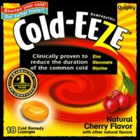 Cold Remedy, All Natural Cherry Flavour, 18 Lozenges