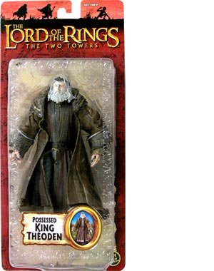 Toy Biz Theoden Possessed Lord Of The Rings Trilogy Figure