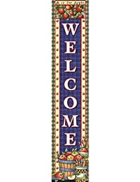 Teacher Created Resources Apples Welcome Vertical Banner from Susan Winget, Multi Color (4460)