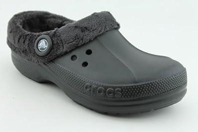 Crocs Blitzen Polar Unisex Footwear, Size: 7 D(M) US Mens / 9 B(M) US Womens, Color: Black/Graphite