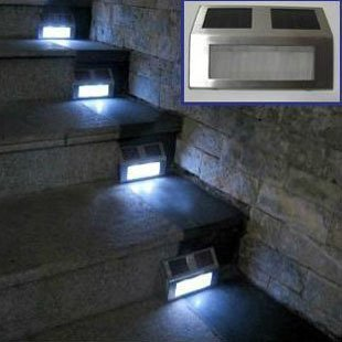 light led home stair pathway deck corridor step light outdoor step. Black Bedroom Furniture Sets. Home Design Ideas