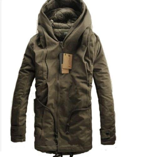 ZEARO-Nouvelle-Hiver-Homme-Veste-de-ski-Homme-Militaire-Trench-Coat-Veste-de-ski-parka--capuche-coton-pais