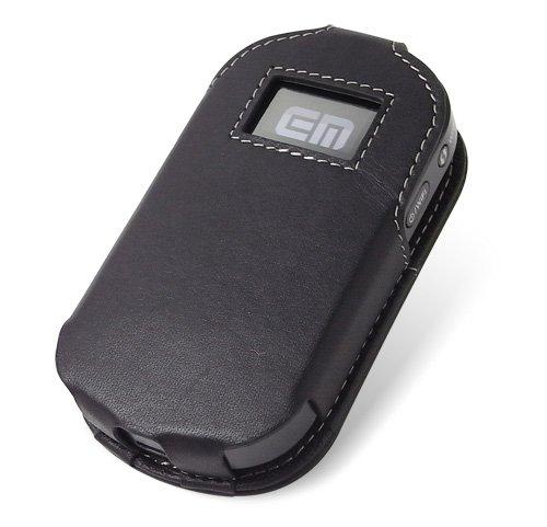 PDAIR レザーケース for Pocket WiFi(GP02) スリーブタイプ(ブラック) PALCGP02