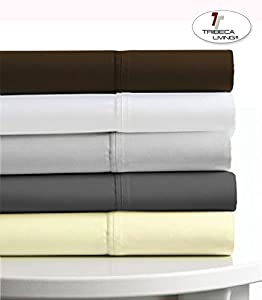tribeca living egyptian cotton sateen 6 piece