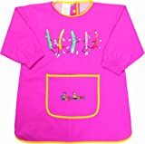 Playshoes Painting Apron Long Sleeve Pink Girls Vests