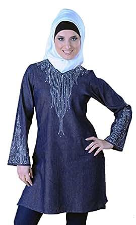 Safia Kurti at Amazon Women's Clothing store: