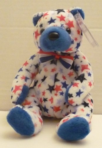 TY Beanie Babie - Blue the Teddy Bear - TY.com Exclusive