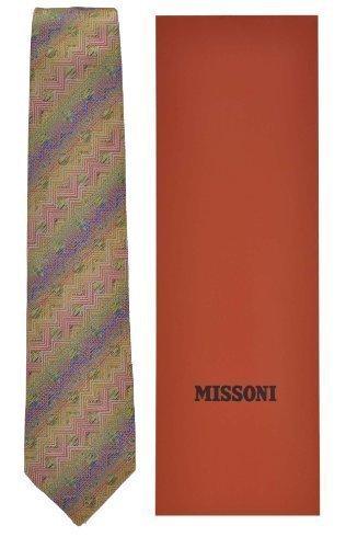 Missoni Krawatte Tie Cravatta Corbata - CM