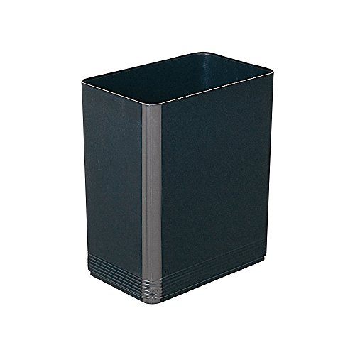 Plus food trays-recycle series dust box angular black [square] 15-226 TM-407