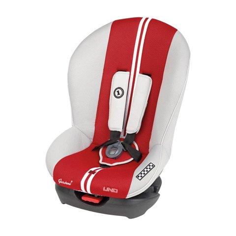 Giordani Uno 54 sporty grigio/red Autositze Gruppe
