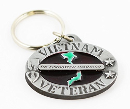 Vietnam Veteran Keychain Military Patriotic Gifts Men Women Veterans Teens