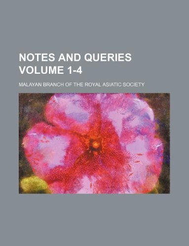 Notes and queries Volume 1-4