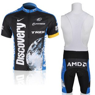 Purchase 2012 Style DISCOVERY cycling jersey Set short-sleeved jersey tenacious life/Perspiration br...