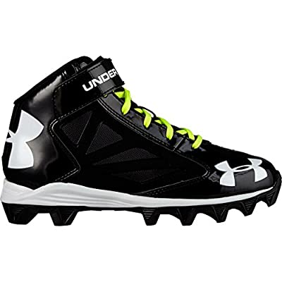Under Armour Big Boys' UA Crusher Mid Football Cleats