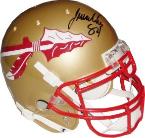 Javon Walker signed Florida State Seminoles Authentic Schutt Helmet by Athlon+Sports+Collectibles