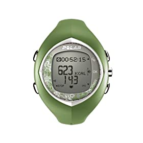 Polar F6 Women's Heart Rate Monitor Watch (Green Tea)