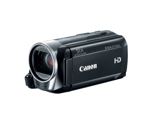 418vs1 s lL Canon Vixia HF R300 Full HD Flash Memory Camcorder with 51x Advanced Zoom