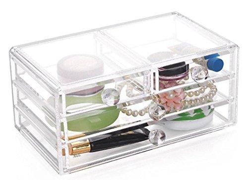 SF-1005-2B 化粧品 コスメ アクセサリー 収納 アクリル ジュエリーボックス 小物入れ 【AGL】