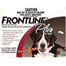 Frontline DFRXLGPLUS6 6-Pack 89 to 132-Pound Plus Dogs Flea and Tick Treatment, X-Large, Red