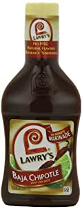 Lawry's, Lawry's Baja Chipotle Marinade,12-Ounces (Pack of 6)