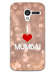 I Love Mumbai - Mumbai Meri Jaan - Hard Back Case Cover for Moto X - Superior Matte Finish - HD Printed Cases and Covers
