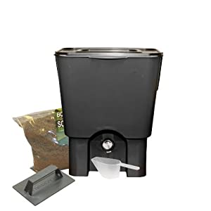 rts home accents 5 gallon kitchen compost kit. Black Bedroom Furniture Sets. Home Design Ideas