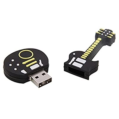 Quace 16 GB Guitar Shaped Fancy USB Pen Drive