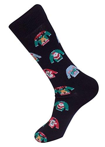 Ugly Sweater Christmas Socks