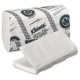 Kimberly-Clark Professional Kleenex Scottfold Paper Towels, White, 120/Pack, 20/Carton (2400 Total)