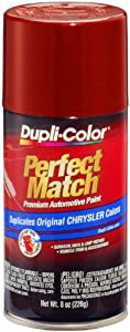 Dupli-Color BCC0424 Chili Pepper Red Pearl Chrysler Exact-Match Automotive Paint - 8 oz. Aerosol