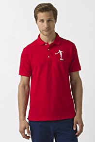 Rene Lacoste Red Racquet Polo