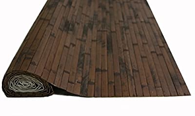 4' x 8' Bamboo Paneling Dark Chocolate