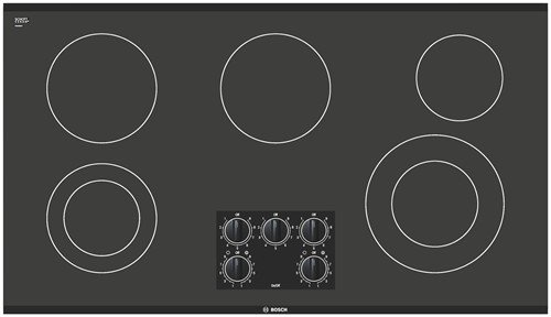 Bosch NEM3664UC 36 300 Series Smoothtop Electric Cooktop