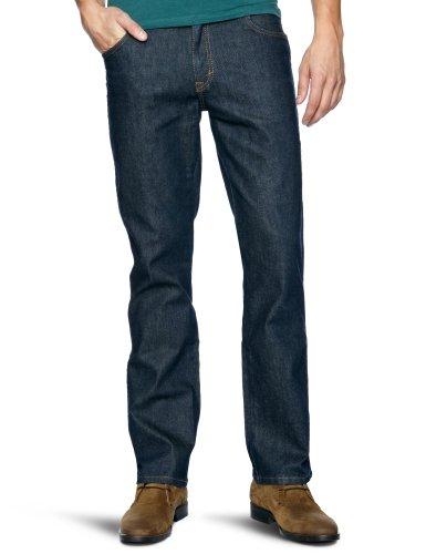 Wrangler Texas Stretch Straight Men's Jeans Blue W33in x L36in