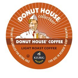 Donut House Light Roast K Cup Coffee from DONUT HOUSE