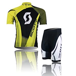 2013 Cycling Bicycle Bike Comfortable Outdoor Jersey Shorts Set (XXL, A)