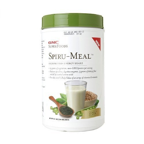 gnc-superfoods-spiru-meal-high-protein-energy-shake-vanilla-194-lbs-885-g-by-gnc-superfoods