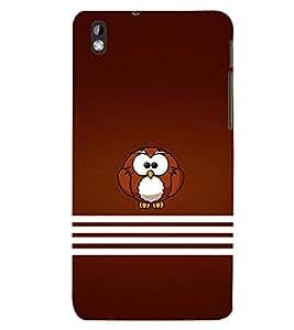 PRINTSWAG OWL Designer Back Cover Case for HTC DESIRE 816
