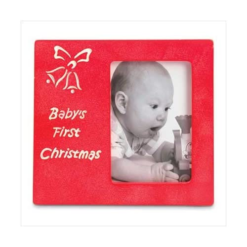 Amazon Com Baby S First Christmas Picture Frame Style