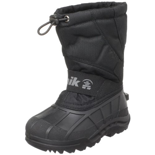 Kamik Stormy Cold Weather Boot (Toddler/Little Kid),Black,10 M US Toddler