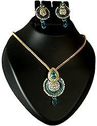 Bhavika Exim's Multicolored Metal Necklace Set For Women - B01KX93FZY