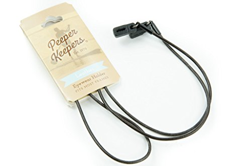 Peeper-Keepers-Eyeglass-Retainer-Chain-Holder-Round-Leather-1-2-Pack