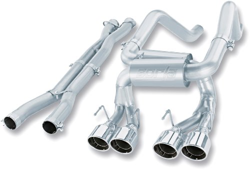 Borla 140265 Multi-Core Cat-Back Exhaust System - CORV Z06/ZR1 '07-'09 7.0/6.2L V8 MT RWD 2DR