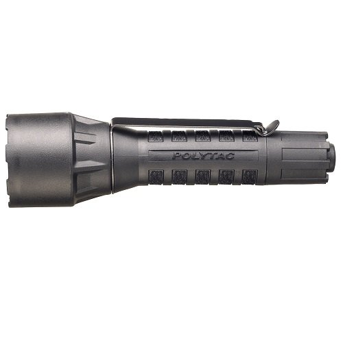 Streamlight 88863 Polytac Flashlight LED HP with Lithium Batteries, Yellow