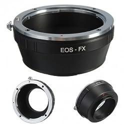 EOS EF EF-S Mount Lens To Fujifilm Fuji X-Pro1 XPro1 FX Camera Adapter -